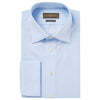Andrew Pale Blue Bengal Stripe Shirt