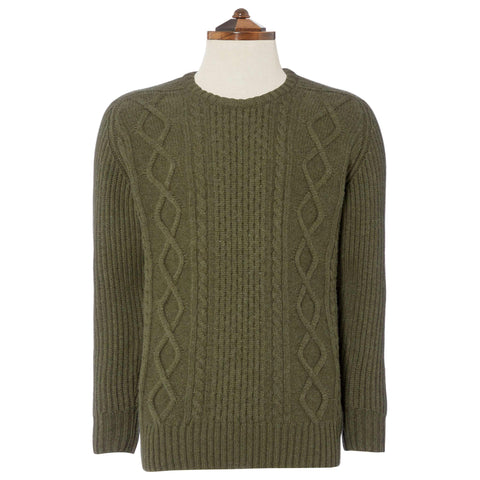 Green Clifton Sweater
