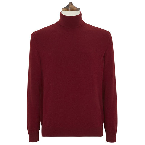 Kenbury Berry Roll Neck Sweater