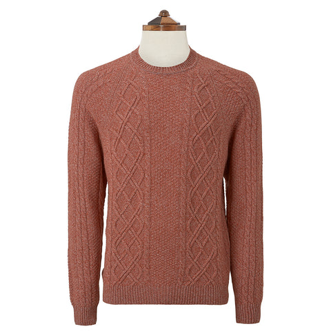 Kinlaw Rust Sweater