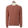 Kinlaw Rust Aran Sweater