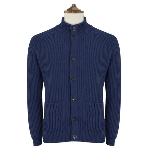 Kingsley Marine Ribbed Cardigan