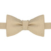 Bronze Micro Textured Diamond Bow Tie