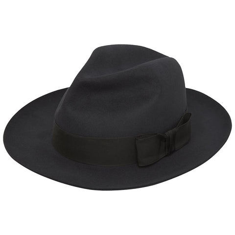 Harper Dark Grey Fedora Hat