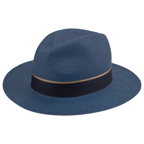 Haze Blue Panama Hat