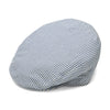 Heydon Blue and White Flat Cap