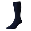 Laburnum Navy Wool Socks