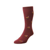 Berrington Wine Pheasant Socks