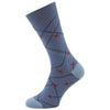Whittle Mid Blue Plane Sock
