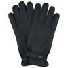 Navy Deerskin Leather Gloves