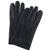 Black Touchscreen Hairsheep Leather Gloves