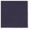 Purple and White Cotton and Linen Hem Handkerchief