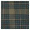 Green Tartan Woven Pocket Square