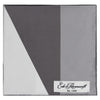 Black and Grey Geometric Print Pocket Square
