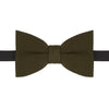 Light Green Fine Guage Knitted Silk Bow Tie