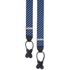 Navy Diagonal Stripe Elastic Braces