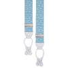 Mint and White Webbed Polka Dot Elastic Braces