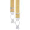 Yellow and White Webbed Polka Dot Elastic Braces