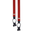 Red Barathea Elastic Braces