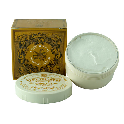 Geo F Trumper Coconut 200G Soft Shaving Cream Bowl