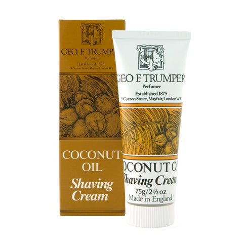 Coconut 75g Shaving Cream Tube