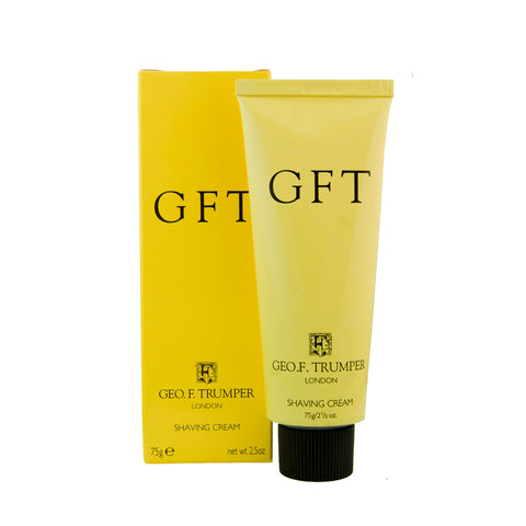 Geo F Trumper GFT 75g Shaving Cream Tube