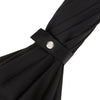 Whangee Wood-Handle Black Umbrella