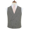 Hayward Black and White Houndstooth Waistcoat