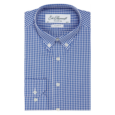 Blue Alvin Gingham Shirt