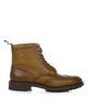 Stafford brogue boots