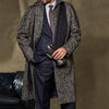 Templemore Charcoal Herringbone Coat