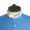 Starched Windsor wing collar