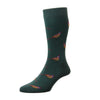 Berrington Green Pheasant Sock