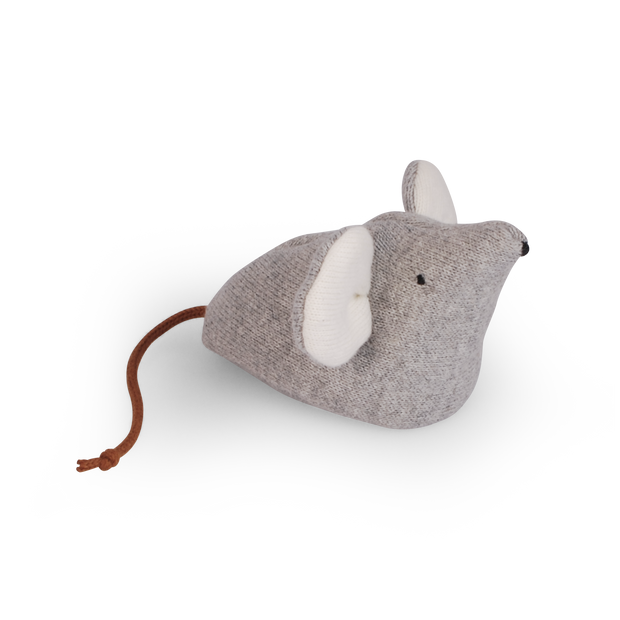 Wurfmaus 'Mysla' in light grey