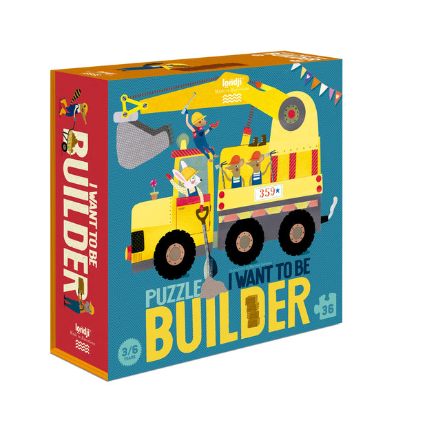 Puzzle 'I want to be a Builder'