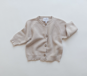 Baby Cardigan 'Knit' in light beige