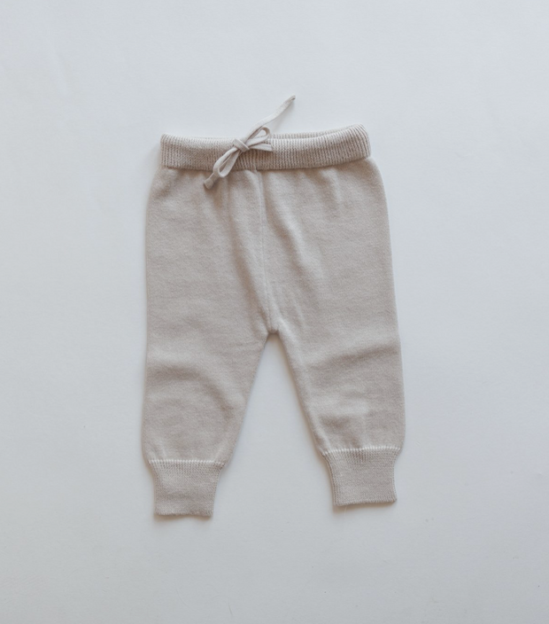 Baby Hose 'Knit' in light beige