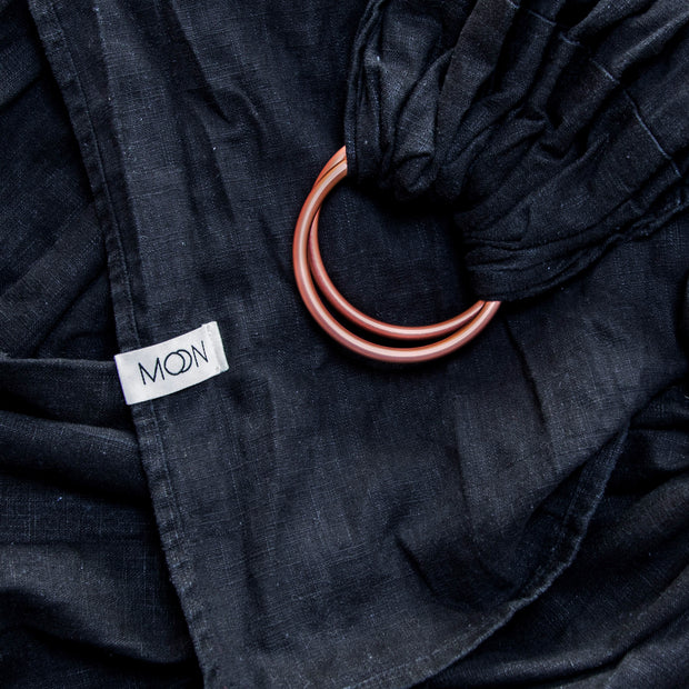 Ring Sling 'Moon' in black