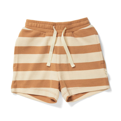 Shorts 'Lou' in striped biscuit