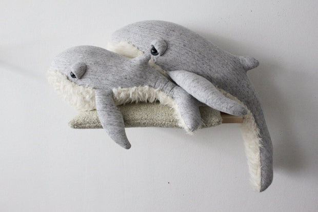 Big Stuffed 'Big Grandpa Whale' Kuscheltier