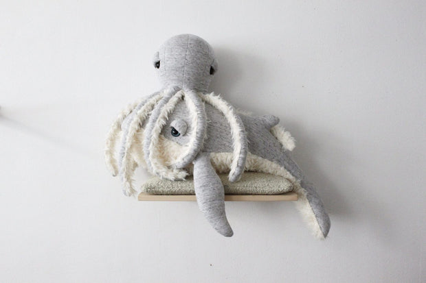 Big Stuffed 'Small Grandpa Octopus' Kuscheltier