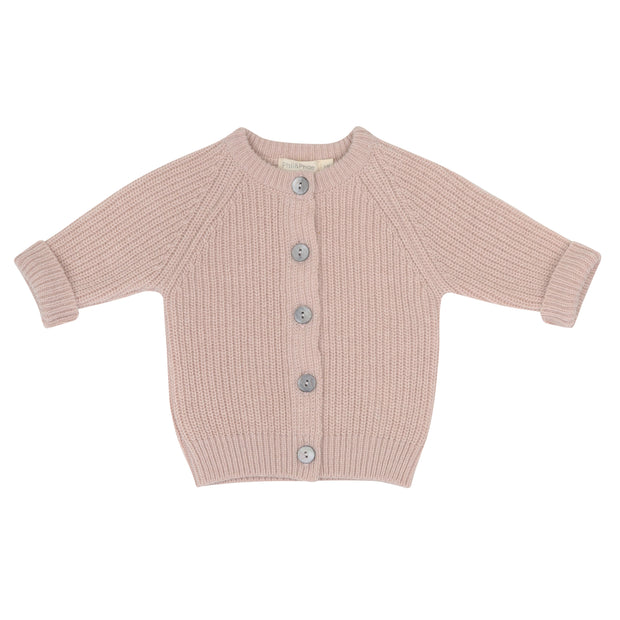 Baby Cardigan 'Cashmere Blend' in blossom