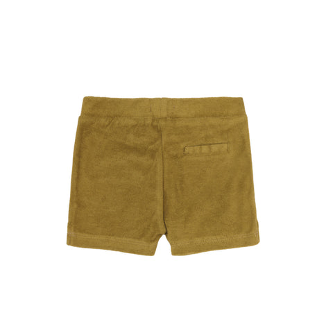 Frottee Shorts in pear