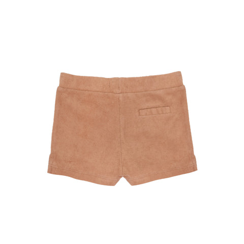 Frottee Shorts in warm biscuit