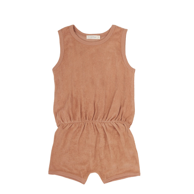 Playsuit 'Frottee' in warm biscuit