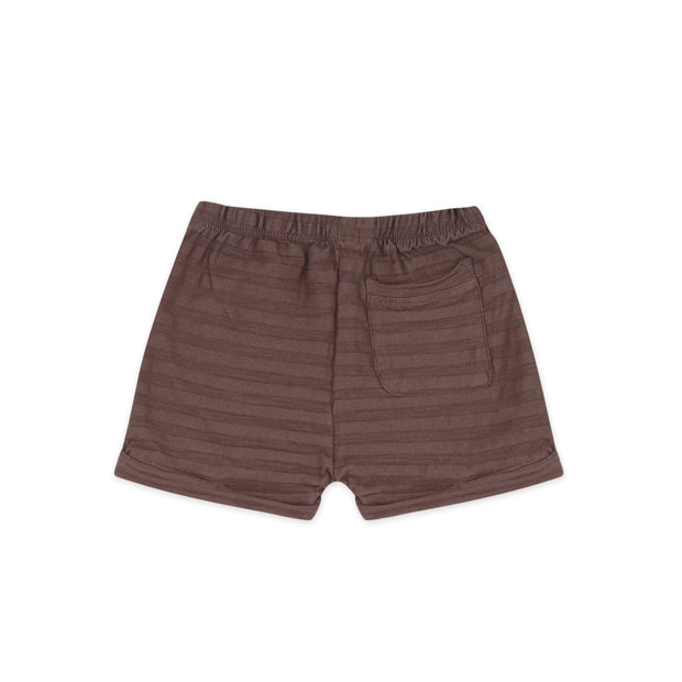 Summer Shorts 'tonal stripes' in heather