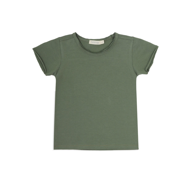 T-Shirt 'Summer' in sage
