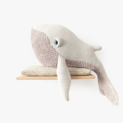 Big Stuffed 'Big Albino Whale' Kuscheltier