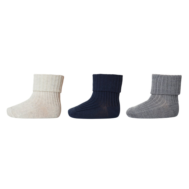 3er-Pack Socken 'Adored' in multi soft