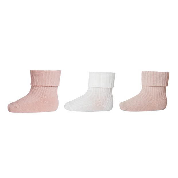 3er-Pack Socken 'Adored' in multi rose